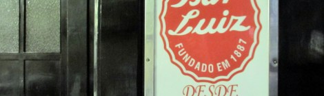 Língua de boi defumada do Bar Luiz