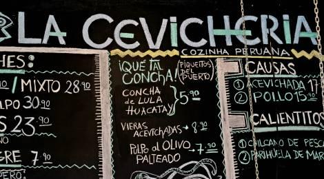 La Cevicheria, direto ao ponto, sem embromação