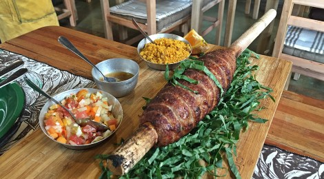 A comida tropeira e caipira do Arimbá