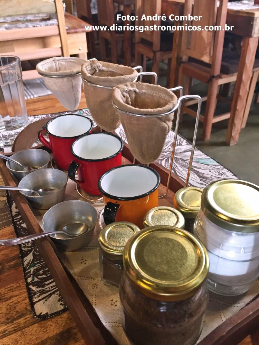 Arimba, cafe coado