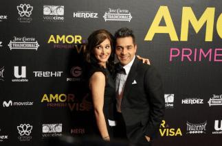 Aurora Papile y Omar Chaparro