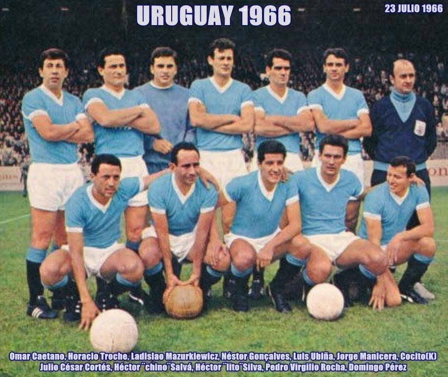 uruguay 1966 en londres mundial