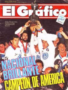 tricolores de america 1988