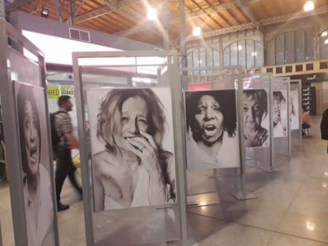 mujeres de negro uruguayas