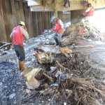 Ejecutan trabajo de limpieza en el río Guaire y quebradas caraqueñas