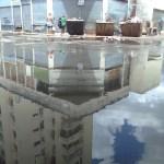 ¡Urgente acudir y arreglar! Se pierden litros y litros de agua potable en San Agustín del Norte