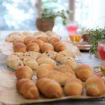 今年の夏も、「塩パン」と「白パン」レッスン開催しました。