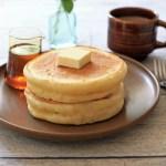 ホシノ酵母の「パンケーキ」。お菓子コース後期はじまりました