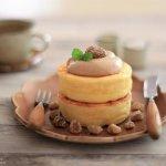 天然酵母のパンケーキ続編「マロンパンケーキ」と「ブルーベリーパンケーキ」
