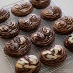 「パルミエ風のショコラパン」チョコとハートはこの時期どうしても作りたくなる。