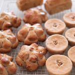 5月は「くるみパン」。今年のレッスンはないですが、作りたくなって3種類。