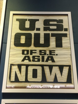 "Anti-war poster ""US OUT of SE Asia NOW."
