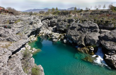 CLIFF JUMPING IN PODGORICA