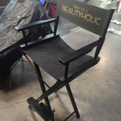 Personalized Makeup Chair Rocking Danish Design Artist