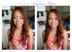 Young girls make up