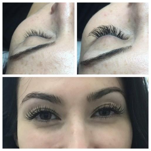 "Medium Length Classic Lash Extensions ""Gorgeousl"" Shape"