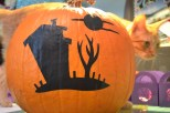 vinyl on the pumpkin instead of carving