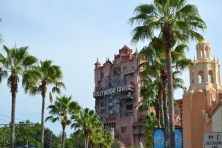 The Tower of Terror...our first ride of the day!