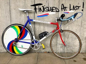 The 'Do-it-Yourself' TT bike – The Final Part