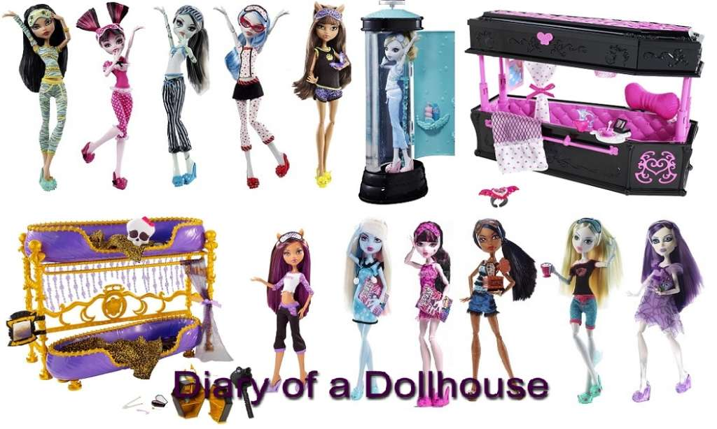 Dead Tired Monster High Dolls Diary Of A Dollhouse