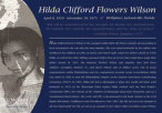 Marquee for Hilda Clifford Flowers Wilson (2013)