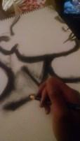 Drawing-Erykah Badu