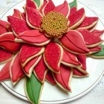 Poinsettia Cookie Platter Gingerbread Cookie Gift Tags And Merry Merry Diary Of A Mad Hausfrau