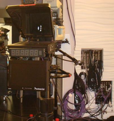 Large HD camera.