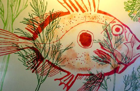 A John Dory fish.