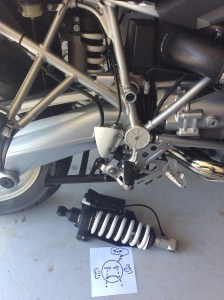 BMW R1200GS ESA Suspension and the Change Curve