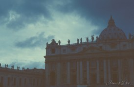 Ever Seen a Storm Over the Vatican City