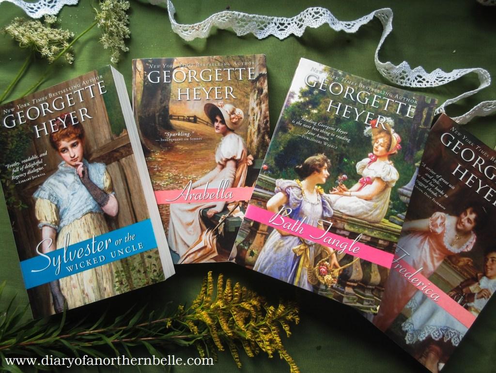 a few inspiring books by author georgette heyer