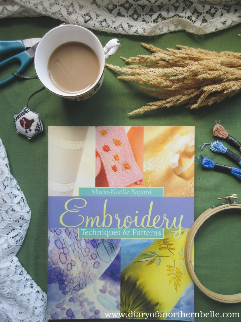 book copy of Embroidery techniques and patterns by Marie-Noëlle Bayard