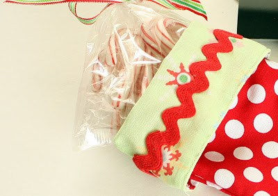 Easy Christmas Stocking Pattern & Sewing Tutorial featured by top US sewing blogger, Diary of a Quilter