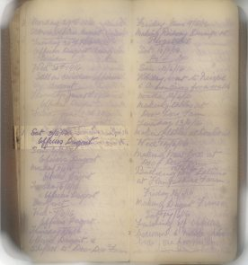 E.L.G. War Diary 03/06/1916