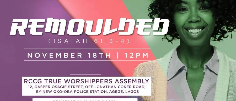 Remoulded! (Woman of Fragrance Prayer Conference 1.0)