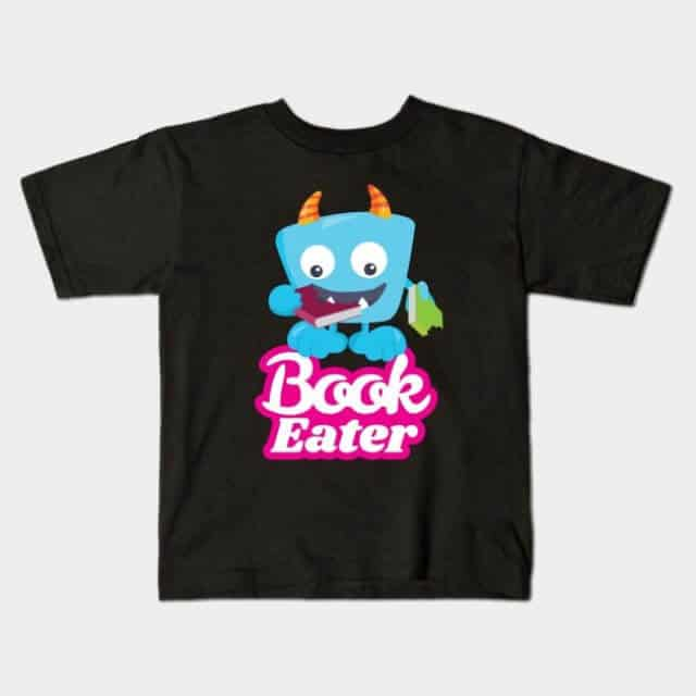 Book Eater kid shirt
