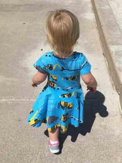 Princess Awesome truck dress