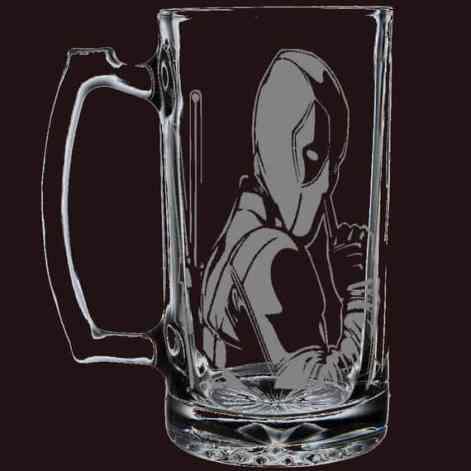 Deadpool beer mug