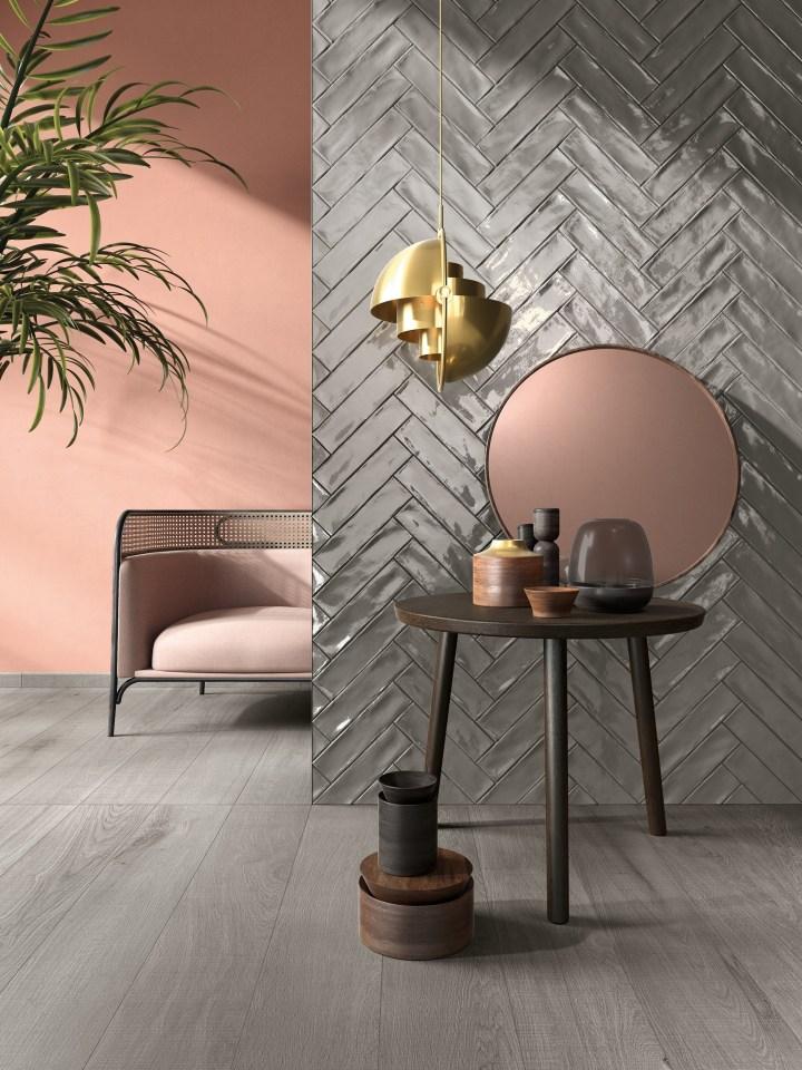Crossroad Wood Grey and Brick Grey by ABK