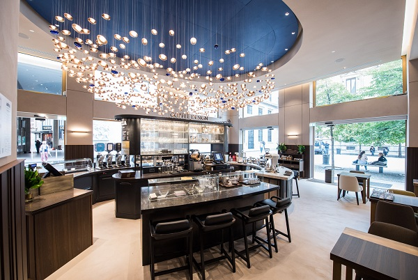 Lavazza's new flagship store in Milan's Piazza San Fedele