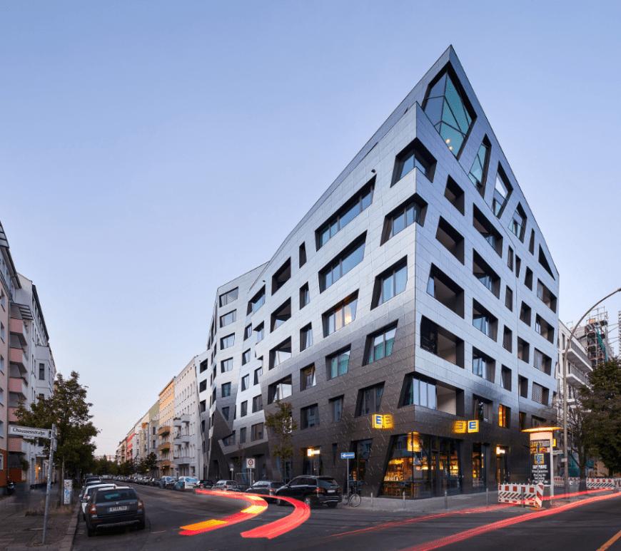 Sapphire, Berlin by Studio Libeskind. Image: Hufton+Crow