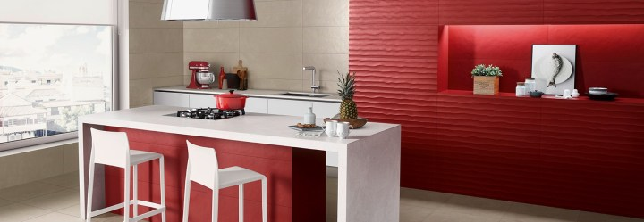 Love Tiles Splash red texture tile new collection