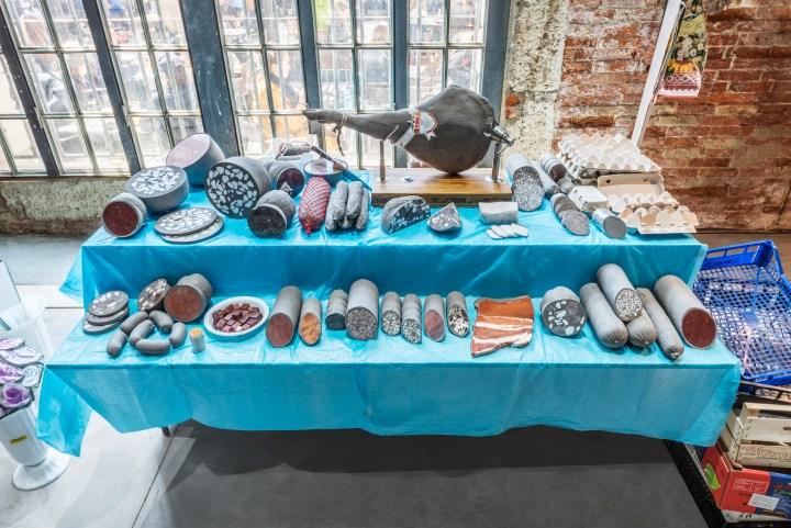Zhanna Kadyrova ceramic tile artist exhibition