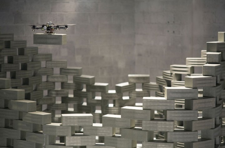 Gramazio Kohler flying architecture project 2012