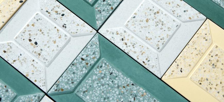 Kaza concrete terrazzo designs