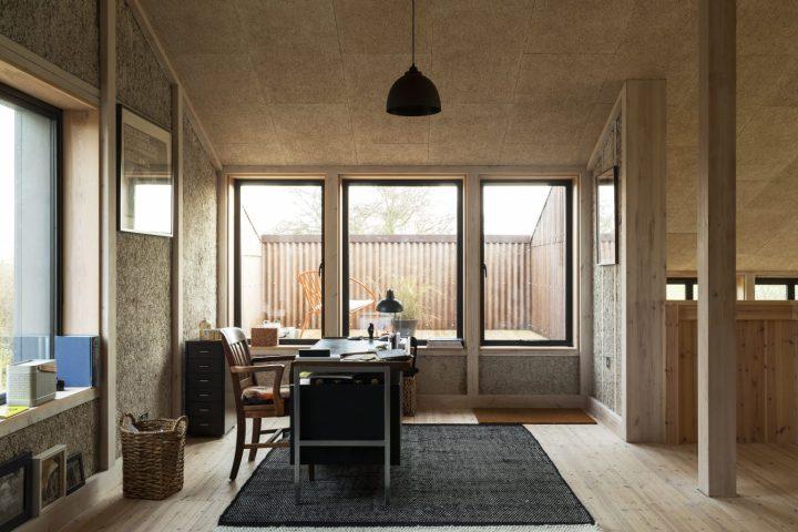 hemp house practise architecture cambridgeshire flat house