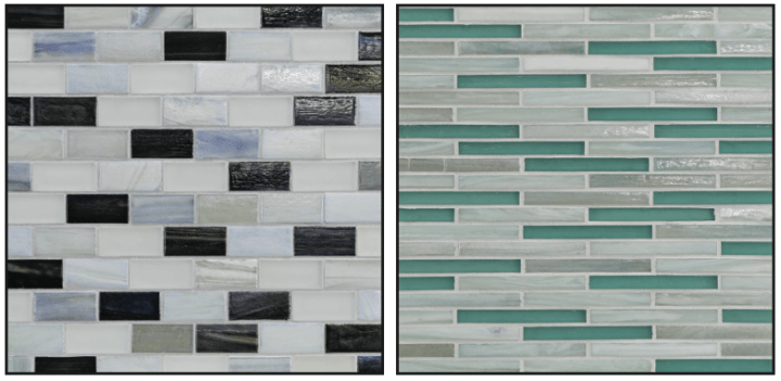 Sample designs from the Tommy Bahama collection by Lunada Bay Tile