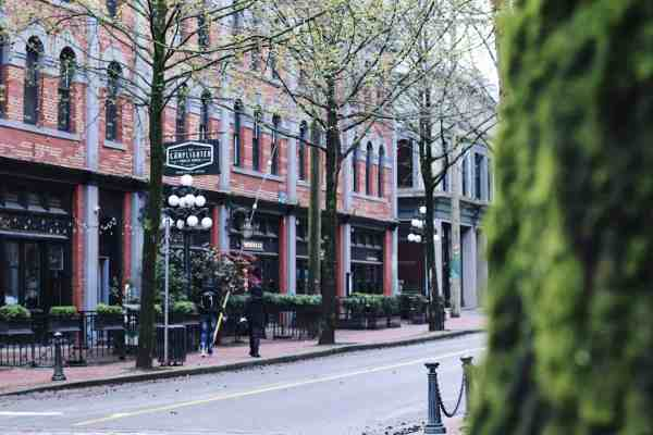 In Gastown Vancouver