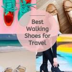 best walking travel shoes pin